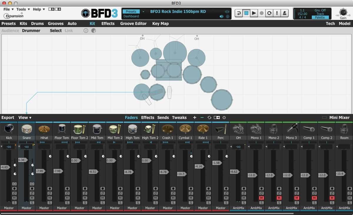 BFD3の拡張音源[BFD2]が認識されないときの解決方法