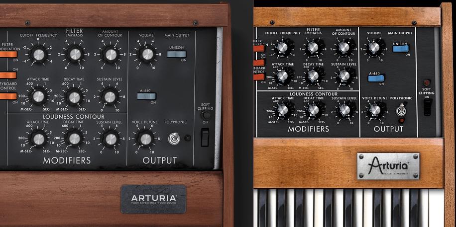 arturia miniVはver2と3で音が違う!?moogらしさはどっち?