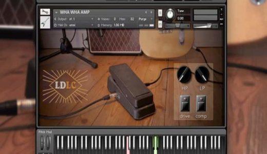 StudioOne3の音源を使えば簡単にリアルな空ピッキングを打ち込める