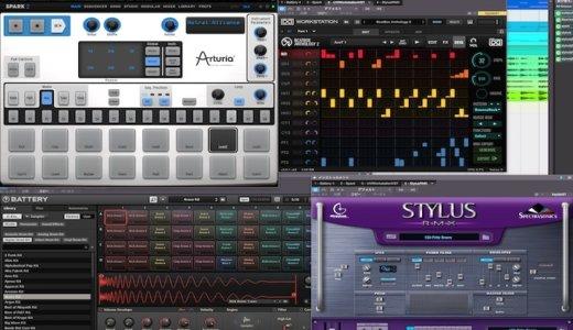 DTMで一番使えるドラム[リズム]マシン音源はどれ?