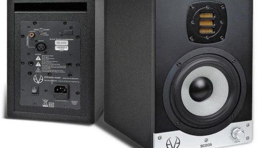 宅録DTMerにオススメ小型で安いスピーカーはEVE Audio SC204が最強
