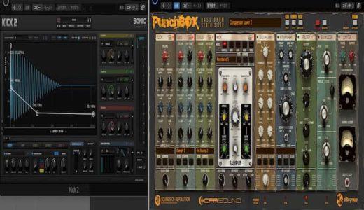 KICK 2とPunchBox使いやすいキック音源はどっち?