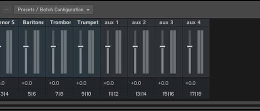 マルチ音源を1つのMDIチャンネルで管理し音色毎に出力する方法