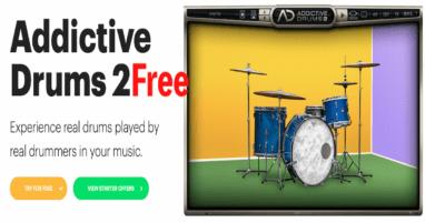 addictive drums free  [Demo]の使い方を解説