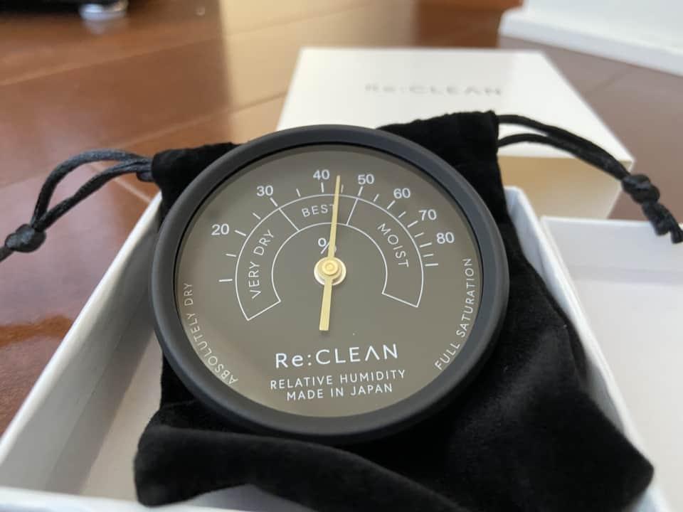 Re:CLEAN RC-50L高精度湿度計開封画像